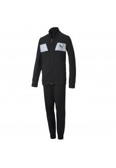 Puma Kids' Tracksuit Poly Suit Black White 583252-01 | Kid's Tracksuits | scorer.es