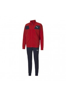 Puma Men´s Tracksuit Poly Suit Navy Red 583602-11