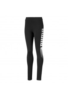 Leggings Niña Puma Essentials Negro/Blanco 843763-01 | scorer.es