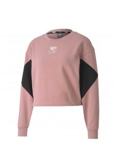 Puma Women's Sweatshirt Rebel Crew Pink Black 583560-16