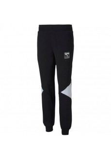 Puma Woman´s Pants Rebel Sweat Black White 583565-01 | Trousers for Women | scorer.es
