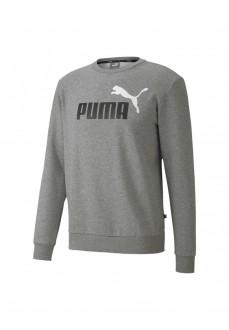 Sudadera Hombre Puma Essetials Gris 583569-03 | scorer.es