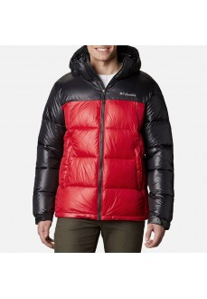 Columbia Men´s Coat Pike Lake Hooded Black Red 1738032-615 | Coats for Men | scorer.es