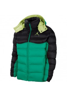 Jordan Men´s Coat Jumpman Air Puffe Black Green CK6885-370 | Coats for Men | scorer.es
