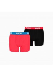 Boxer Niño/a Puma Basic Negro/Rojo 505011001-786