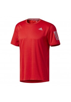 Camiseta de running Adidas Roja