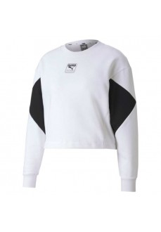 Puma Woman´s Sweatshirts Rebel Crew White 583560-02 | Women's Sweatshirts | scorer.es