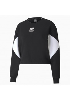 Puma Woman´s Sweatshirts Rebel Crew Black 583560-01 | Women's Sweatshirts | scorer.es