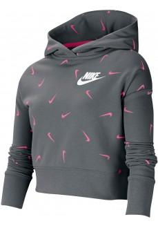 Nike Kid´s Sweatshirts Sportswear Grey Pink CZ2566-079 | Kids' Sweatshirts | scorer.es