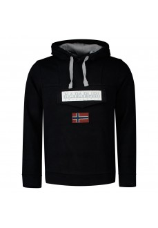 Napapijri Men´s Sweatshirts Burgee Win Black NP0A4ENA0411 | Men's Sweatshirts | scorer.es