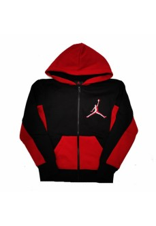 Nike Jordan Kid´s Sweatshirts Jumpman Black Red 95A192-023 | Basketball clothing | scorer.es