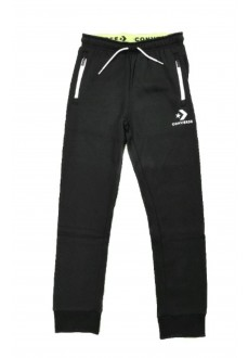 Converse Kid´s Pants Wordmark Jogger Black 9CB195-023 | Trousers for Kids | scorer.es