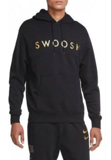 Sudadera Hombre Nike Swoosh Negra DC2586-010 | scorer.es