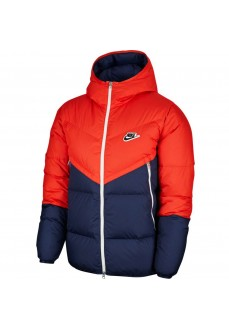 Nike Men´s Coat Sportswear Down-Fill Windrunner Red/Navy CU4404-673 | Coats for Men | scorer.es
