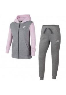 Nike Kids' Tracksuit Sportswear Grey Pink BV3634-093
