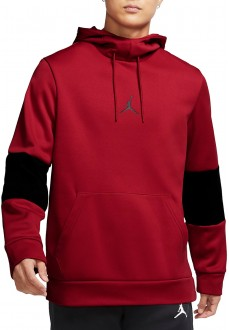 Nike Men´s Sweatshirts Air Jordan Air Therma Red Black CK6789-687 | Clothing | scorer.es