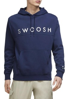 Nike Men´s Sweatshirts Swoosh Navy DC2586-410 | Men's Sweatshirts | scorer.es
