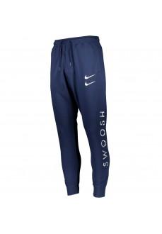 Nike Men's Pants Swoosh Navy DC2584-410