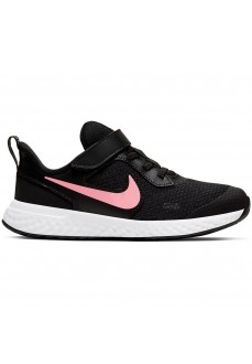 Nike kid´s Trainers Revolution 5 Black Pink BQ5672-002 | Running shoes | scorer.es