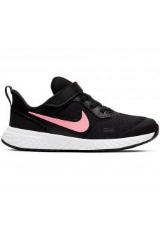 Zapatillas Niño/a Nike Revolution 5 Negro/Rosa BQ5672-002 | scorer.es