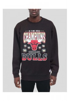 Mitchel & Ness Men´s Sweatshirts Chicago Bulls Black BMFCCBW18080-CBUBLCK | Men's Sweatshirts | scorer.es