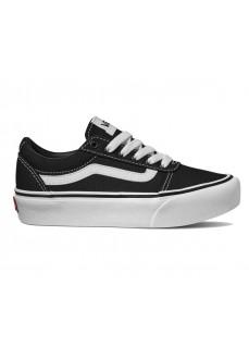 Vans Woman´s Shoes Ward Platform Black White VN0A4UUV1871   Women's Trainers   scorer.es