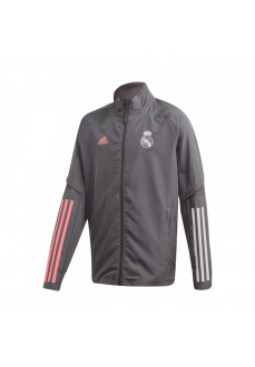 Adidas Mens´s Jacket Real Madrid 20/21 Grey FQ7853 | Football clothing | scorer.es