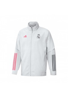 Adidas Men´s Jacket Real Madrid 2020 White | Football clothing | scorer.es
