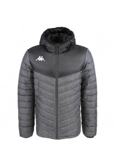 Kappa Men´s Coat Doccio Padded Grey/Black 304IN60-905 | Coats for Men | scorer.es