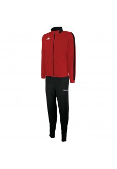Kappa Men´s Tracksuit Salcito Red/Black 304IP10-920 | Men's Tracksuits | scorer.es