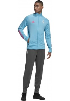 Adidas Men´s Tracksuit Real Madrid 2020/2021 Blue/GreyFQ7866 | Football clothing | scorer.es