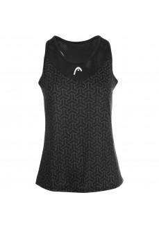Camiseta Mujer Head Alpha Tank Negro 814711 | scorer.es