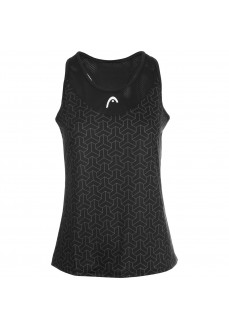 Head Woman´s Shirt Alpha Tank Black 814711 | Paddle tennis clothing | scorer.es