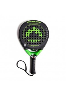 J.Hayber Paddle Tennis Spartack Black Green 18309-600 | Paddle tennis rackets | scorer.es