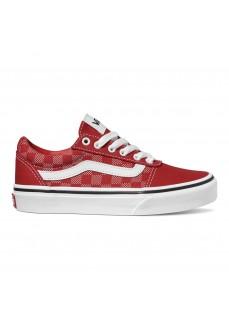 Vans Woman´s Shoes Ward Red VN0A38J93RU1   Women's Trainers   scorer.es