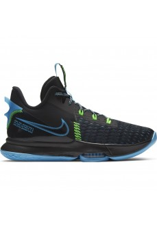 Nike Men´s Trainers Lebron Witness 5 Black/Blue CQ9380-004
