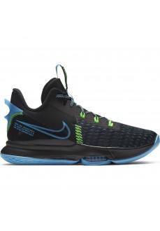 Zapatillas Hombre Nike Lebron Witness 5 Negro/Azul CQ9380-004