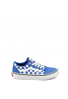 Vans Kid´s Shoes YT Ward White/Blue VN0A38J90OZ1 | Low shoes | scorer.es