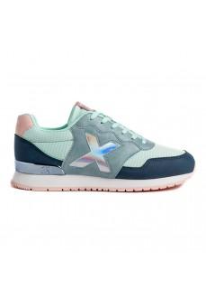 Munich Woman´s Shoes Dash 95 Green/Blue 1690095 | Low shoes | scorer.es
