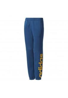 Pantalón largo Adidas Azul/Amarillo