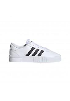 Adidas Kid´s Shoes Court Bold White/Black FY7795 | Kid's Trainers | scorer.es