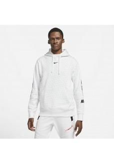 Nike Men´s Swearshirt Nsw Repeat Po Hood White DD3774-100 | Men's Sweatshirts | scorer.es