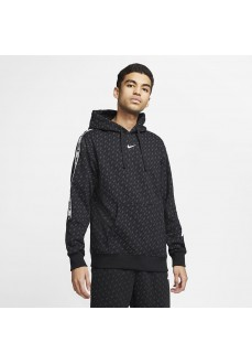 Nike Men´s Sweatshirt Nsw Repeat Po Hood Black DD3774-010 | Men's Sweatshirts | scorer.es