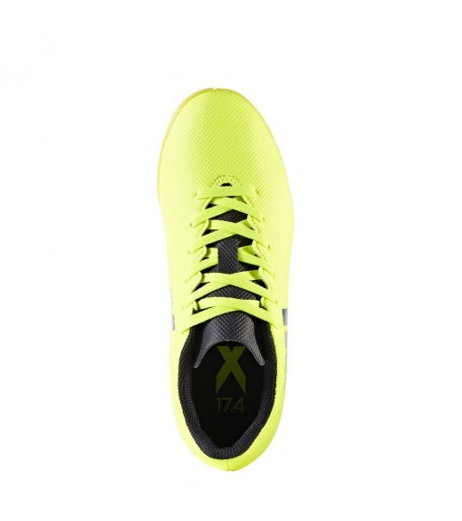 Zapatillas de fútbol Adidas X 17.4 Amarillo Fluorescente | scorer.es