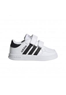 Adidas Kid´s Shoes Breaknet I White/Black FZ0090 | Kid's Trainers | scorer.es