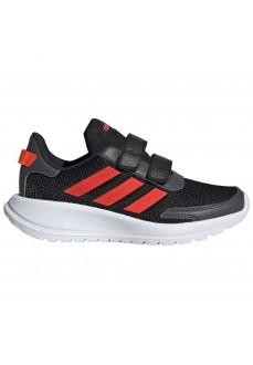 Adidas Kid´s Trainers Tensaur Black/Red EG4143 | Running shoes | scorer.es