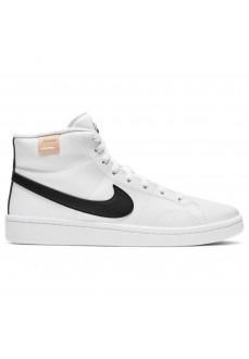 Nike Men's Shoes Court Royale 2 Mid White/Black CQ9179-100 | Men's Trainers | scorer.es