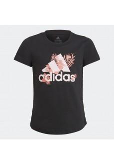 Camiseta Niño/a Adidas Tropical Sports Graphic Negro GJ6515 | scorer.es
