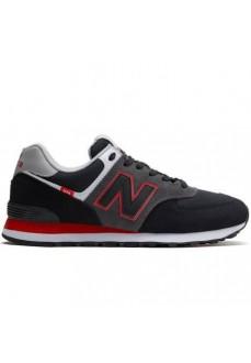 New Balance Men´s Shoes 574 Balck/Red ML574 SM2 | Men's Trainers | scorer.es