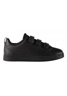 Zapatillas Adidas sin cordones AdVantage Clean Negras